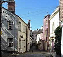 Castle Terrace, Bridgnorth  by Rod Johnson