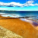 Bridlington beach by Chris Ó Cléirigh