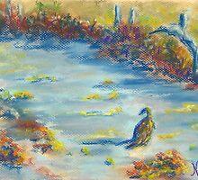 Herbst (pastel) by Niki Hilsabeck