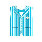 Dapper Dans Vest - Blue by jdotcole