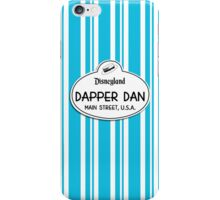 Dapper Dans Nametag - Blue iPhone Case/Skin