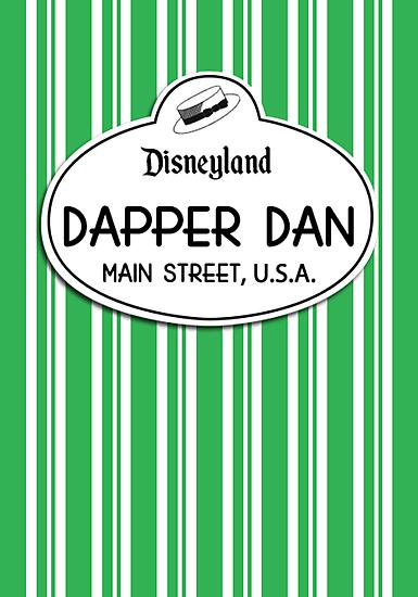 Dapper Dans Nametag - Green by jdotcole