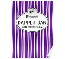 Dapper Dans Nametag - Purple Poster