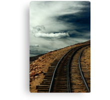 On the Way to the Clouds Canvas Print