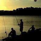 lads fishing  by fazza