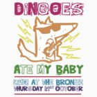 Dingoes Ate My Baby | Buffy The Vampire Slayer Band T-shirt [Neon] by Jessica King