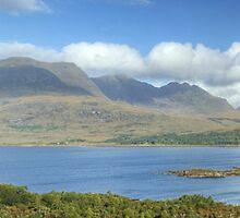 Upper Loch Torridon #3 by Jamie  Green