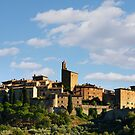 The beautiful hilltop village of Panicale, Umbria by Andrew Jones