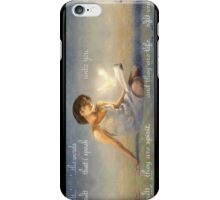 These words are spirit and they are life iPhone Case/Skin