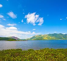 Sea coast landscape in Hong Kong Geo Park by kawing921
