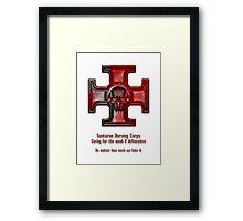 Sontaran Nursing Corps Framed Print