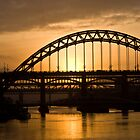 Sunset over the Tyne by Stuffy1940