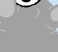 Danger Evil Penguin Sticker