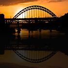 Tyne Reflections by Giorgio Elesaro
