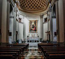 Saint Rose Church in Viterbo, Italy by Marco Borzacconi