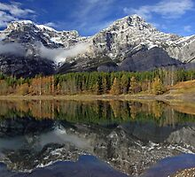 Mount Kidd in Autumn by Michael Collier