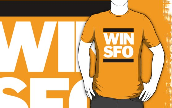 San Francisco Giants WIN SFO (adult size) by Weapons of Moroland