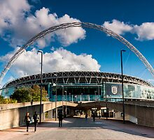 Wembley Stadium by Mattia  Bicchi Photography