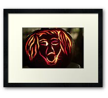 Dog Howl Framed Print
