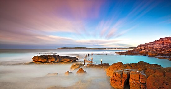 Mahons's Pool Maroubra by donnnnnny