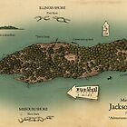 Jackson&#x27;s Island from Huckleberry Finn by Craig Wetzel