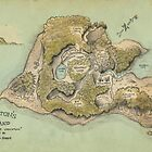 Crichton&#x27;s Island Map by Craig Wetzel