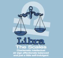 Libra The Scales centred by Sarah Trett