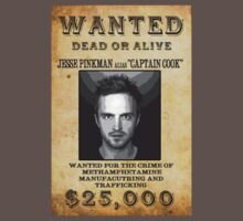 Wanted Dead or Alive : Jesse Pinkman by HighDesign