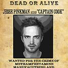 Distressed Wanted Dead or Alive : Jesse Pinkman by HighDesign