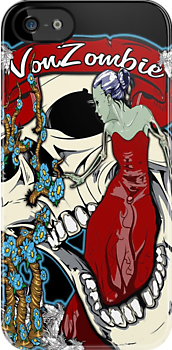 Beauty and the Zombie Bride (Case) by VON ZOMBIE ™©®