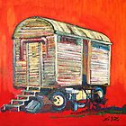 bauwagen/constuction trailer by frank lennartz