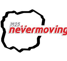 M25 nevermoving by w1ckerman