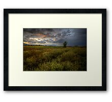 Thick Change Framed Print