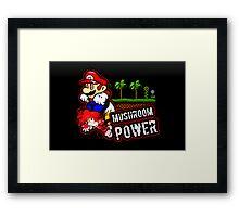 Mushroom Power (Print Version) Framed Print