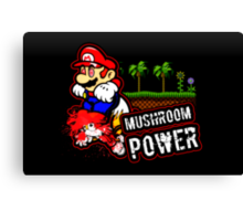 Mushroom Power (Print Version) Canvas Print