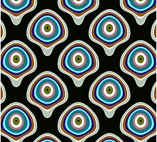 BubblePatternBlack by JBurgessDesign