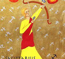 Sagittarius * 23 November - 21 December * element fire * planet Jupiter * energetic, idealistic, adventurous * by Krokokaro
