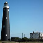 Dungeness Old Lighthouse and Round House by Andy Jordan