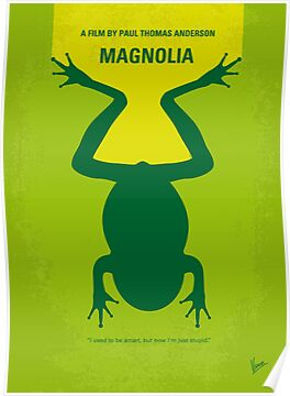 No159 My MAGNOLIA minimal movie poster by Chungkong