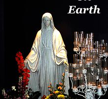 "Christmas Card ""Mary"" Peace on Earth. ne1o4c by Tony Weatherman"