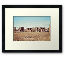 Brush Park  Framed Print
