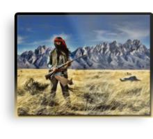 Apache Metal Print