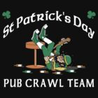 Irish Pub Crawl by HolidayT-Shirts