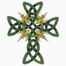 Irish Cross by HolidayT-Shirts