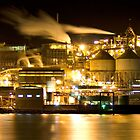 Zinc Works, Hobart Tasmania by David  Kembrey