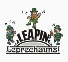 Leaping Leprechauns Kids Clothes