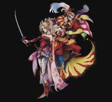 Terra and Kefka by Frostwraith