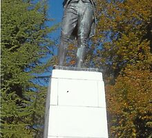 Robert Burns In Stanley Park,Vancouver by RobynLee