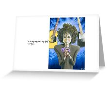 Dusky Resolution - Quote Greeting Card