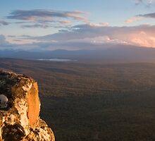 Sunset, Victoria Valley by Alex Fricke